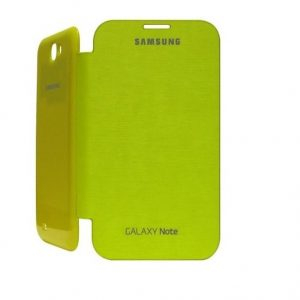 Samsung Galaxy Note 1 N7000 Flip Cover Case - Yellow