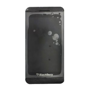 Blackberry Z10 LCD Display and Touch Screen Replacement Digitizer Assembly with Frame (Black) STL100-3