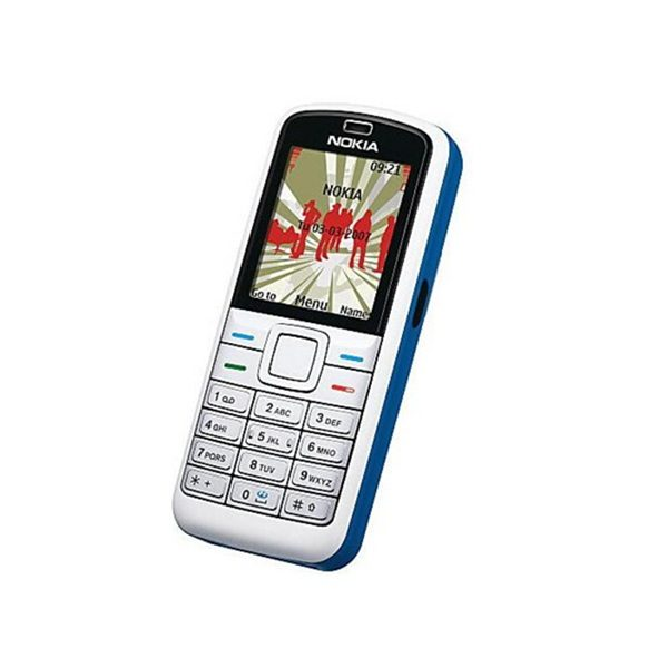 Nokia 5070 Blue Keypad Mobile Refurbished