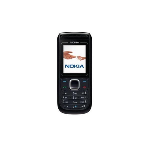 Nokia 1681c Black Single SIM Feature Phone Refurbished