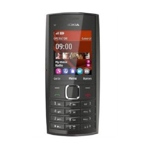 Nokia X2-05 Black Keypad Phone Refurbished