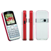 Nokia 5070 Red Keypad Mobile Refurbished