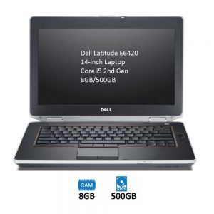 Dell Latitude E6420 14-inch Laptop Core i5 2nd Gen 8GB/500GB