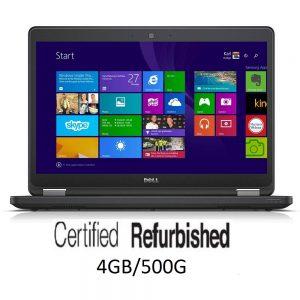 Refurbished Dell Latitude E5450 14-inch Laptop 5th Gen Core i3(4GB 500GB)