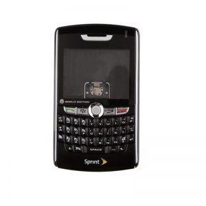Replacement Full Body Housing For Blackberry 8830 ( BLACK )