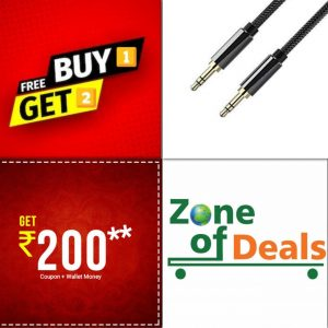 Buy1 Get 2 Free - ZODE® 3.5 MM Aux Audio Cable