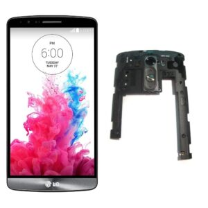 LG G3 D855 Middle Frame | Volume Key Body 100% Original | LG G3 D855 SPARE PARTS zoneofdeals.com