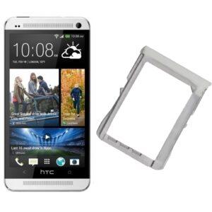 100% Original Replacement Sim Trey For HTC One M7 Single Sim White