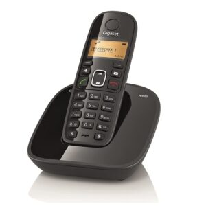 Gigaset A490 Cordless Phone ( Black ) - Refurbished on zoneofdeals.com
