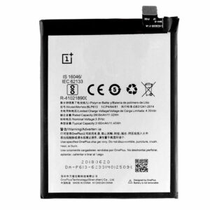 100% Original Replacement Battery For Oneplus 3