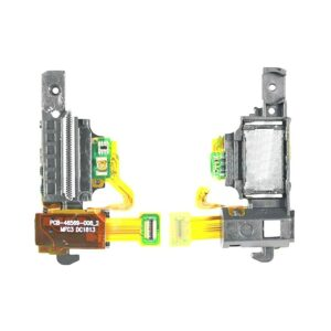 Blackberry Z10 Power Button With Earphone Jack Flex Cable | Blackberry SPARE PARTS on zoneofdeals.com