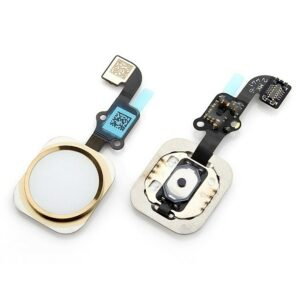 Apple iphone 6 Home Button Flex Gold | Apple iPhone 6 Spare Parts on zoneofdeals.com