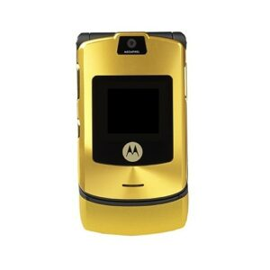 Motorola RAZR V3i Full Body Housing Gold | Motorola Flip Phone SPARE PARTS on zoneofdeals.com