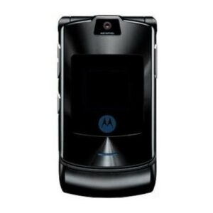 Motorola RAZR V3i Full Body Housing Black | Motorola Flip Phone SPARE PARTS on zoneofdeals.com