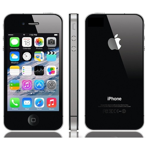 Buy Apple Iphone 4s 16GB Refurbished Black at Zoneofdeals.com