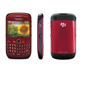 Blackberry 8520 Curve Qwerty Keypad Mobile – Preowned/Used Smartphone | RED