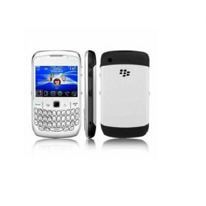 Blackberry 9300 Curve | 3G Qwerty Keypad Mobile Phone Refurbished | WHITE