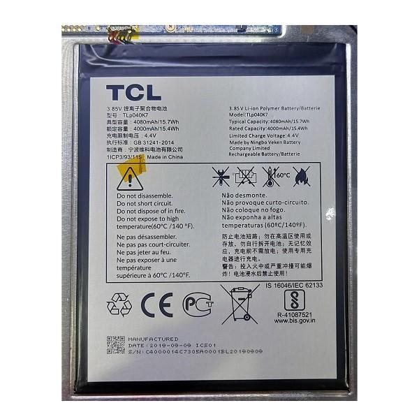 Alcatel 8088Q 3T 100% Original Battery- 4080mAh