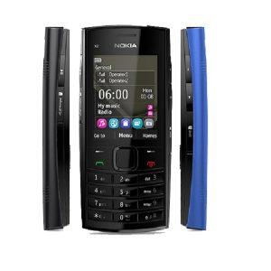 Nokia X2-02 Blue Keypad Phone Refurbished