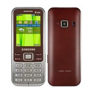 Samsung Metro Duos GT-C3322 Refurbished Mobile- Red