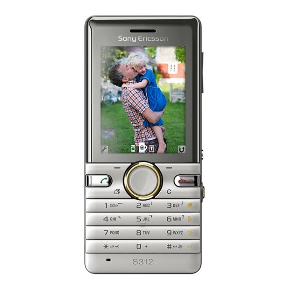 Sony Ericsson S312 Keypad Refurbished Mobile