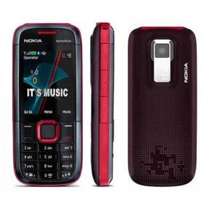 Nokia 5130 XpressMusic Refurbished Mobile -Red