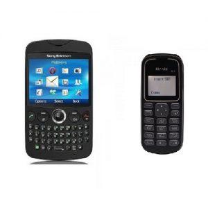 Sony Ericsson Txt CK13i Qwerty Keypad Refurbished Mobile + Monix Single Sim Mobile Free at Zoneofdeals.com