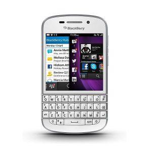 Blackberry Q10 Touch & Type Qwerty Keypad Mobile White (2GB + 16GB)