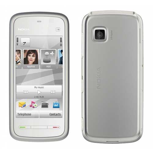 Nokia 5233 Mobile Rufurbished White