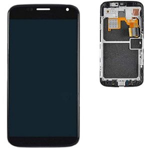 Motorola Moto X 1st Generation LCD Display and Touch Screen Replacement Digitizer Assembly with Frame (Black)