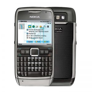 Nokia E71 Steel Grey Qwerty Keypad Mobile Refurbished