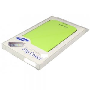 Samsung Galaxy Note 1 N7000 Flip Cover Case - Green