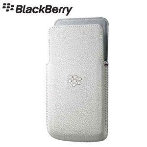 Blackberry Z10 Leather Case - White