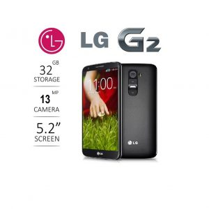 LG G2 - 32GB (2GB Ram, Black) Pre-owned/ Used Smartphone