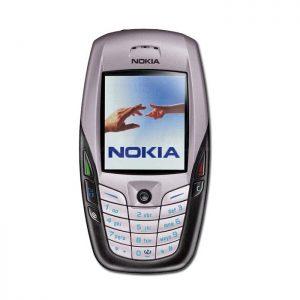 Nokia 6600 Red Vintage Phone Refurbished