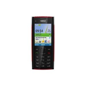 Nokia X2-00 Black Keypad Mobile Refurbished
