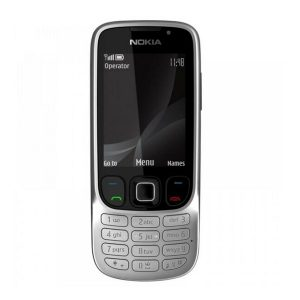 Nokia 6303c Steel Keypad Phone Refurbished