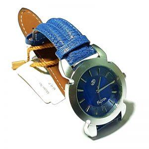 Sport Look Blue Watch for MEN - Steel Round Dial