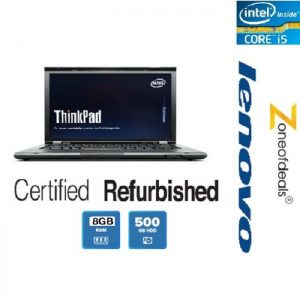 Refurbished Lenovo Thinkpad T430s Slim Series Core-i5 3rd Gen Laptop 8GB Ram, 500GB Hard Disk