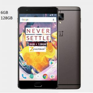 OnePlus 3T (Gunmetal 6GB- 128GB) Refurbished 4G VoLTE