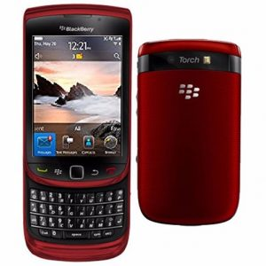 Blackberry Torch 9800 Slide Touchscreen Qwerty keypad – Refurbished Red