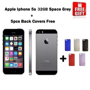 Combo Offer | Apple iPhone 5S 32GB (Space Grey) Refurbished + 5pcs Of Back Covers