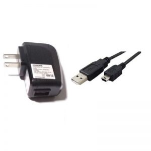 Replacement Charger For Phillips E133 - Mini USB Cable + A Adapter