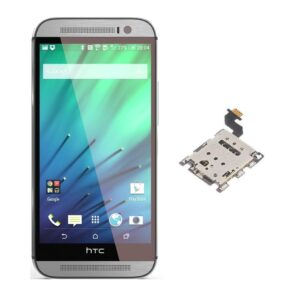 100% Original Replacement Sim connector For HTC One M8