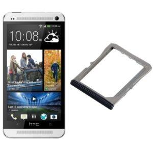 100% Original Replacement Sim Trey For HTC One M7 Single Sim Black