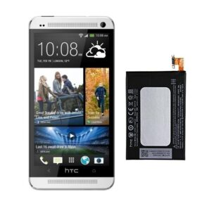 100% Original Replacement Battery For HTC One M7 Single Sim
