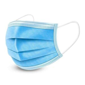 Disposable Face Mask - With Nose Pin on zoneofdeals.com