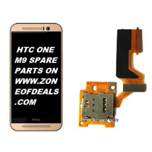 100% Original Replacement SIM Connector Flex Cable For HTC One M9 Single Sim