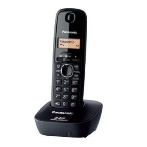 Panasonic KX-TG3611SX Cordless Landline Phone (Black) on zoneofdeals.com