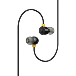 Realme Earphones with 3.5mm and with Mic - Black on zoneofdeals.com